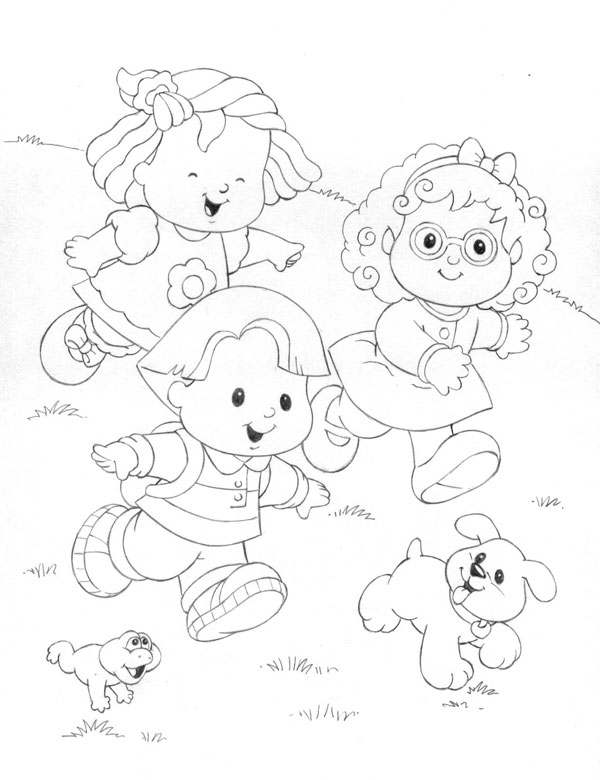 little people coloring pages little people coloring game coloring pages